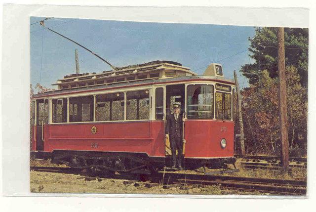 Seashore Trolley Postcard