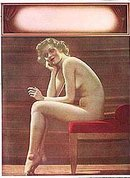 Nude Art Pinup Print