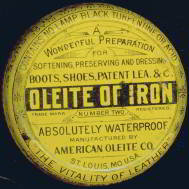 Oleite Shoe Polish Tin