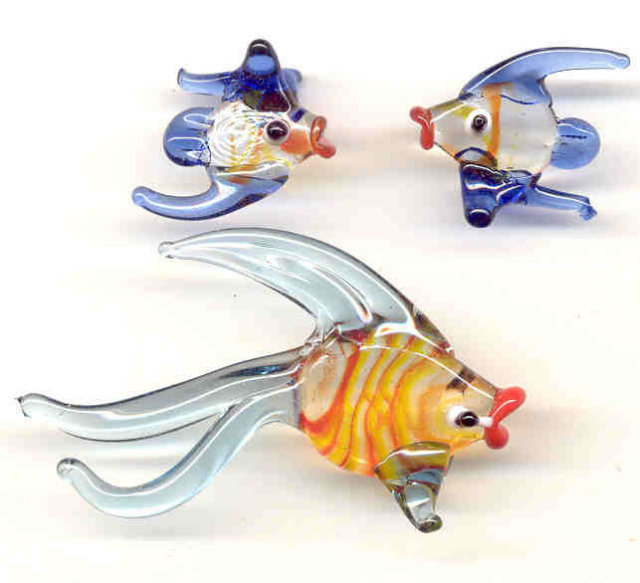 Blown Glass Fish