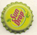 Sun Drop Sunny Yellow Soda Bottle Cap