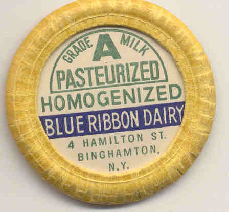 Blue Ribbon Dairy Milk Cap