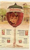 Dubonnet Recipe Ad 1960s
