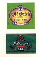 Vintage Ale Labels