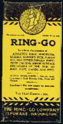 Ring-Go Foot Cream RX Medicine Box