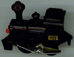 Key-Wind Locomotive Train Toy