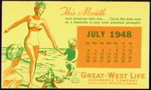 Great West Blotter 1948
