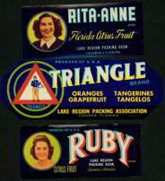 Bermuda Triangle Crate Labels