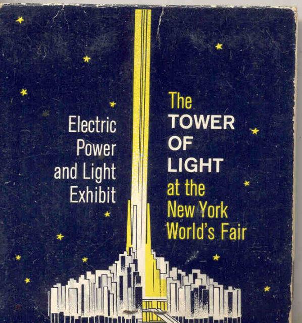 World's Fair Eyeglass Cleaner Sheets Full 1960s