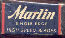 Marlin Razor Blades in Box