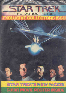 Star Trek Collector Issue with Poster