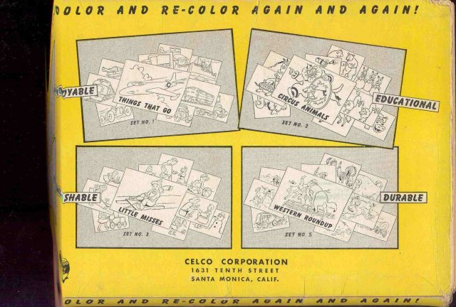 Celco Color Cards in Original Pack 1949