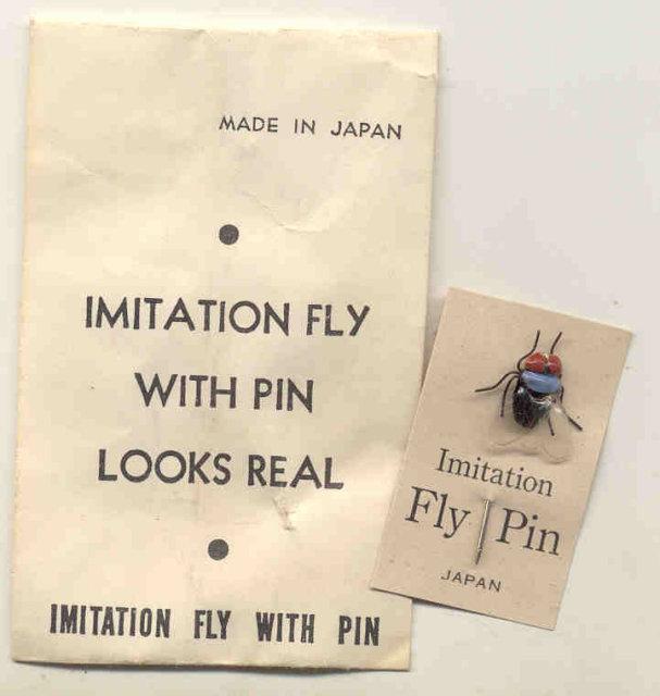 Japan Fly Pin