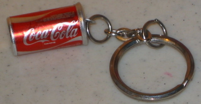 Coca-Cola Soda Can Keychain Toy