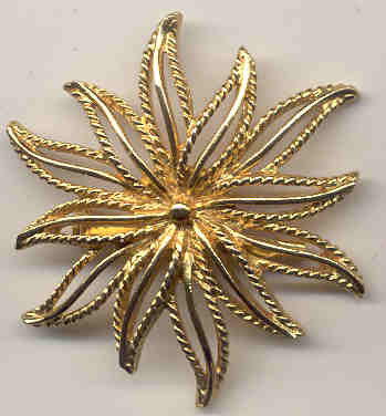 Sunburst Star Pin