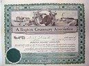 Arlington Creamery Dairy Stock Certificate