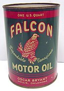 Falcon Motor Oil Can Full Unused