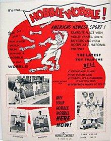 Hobble Wobble Store Poster