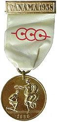 Panama Central American Games Medal 1938