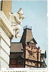 Anheuser Busch Postcard