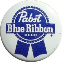 Pabst Blue RIbbon Beer Pinback Pin
