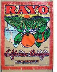 Rayo California Orange Bag