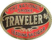 Travelers Cigar Labels