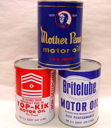 Oil Can Store Displays