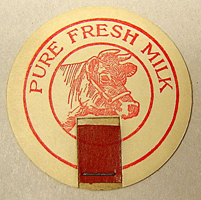 Pure Fresh Milk Cap Pogs