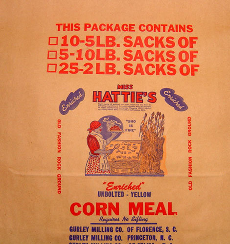 Hatties Corn Meal Bag