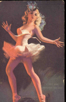 Mutoscope Pinup Card - Get the Darndest Brakes