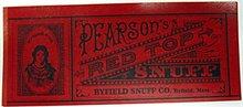 Pearson's Snuff Labels