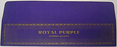 Royal Condom Wrappers