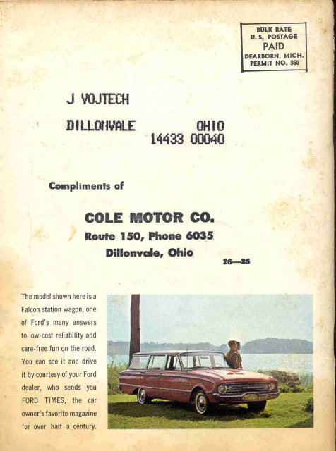 1961 Ford Magazine