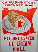 Hatchet Ice Cream Diner Poster