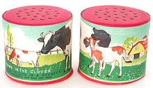Cow Noisemaker Can Toys