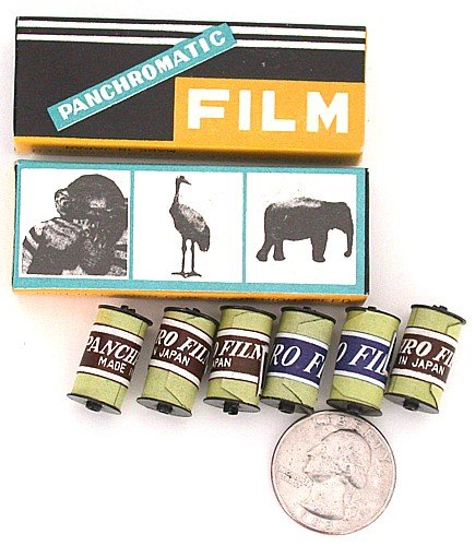 Miniature Film for Toy Cameras