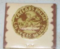 Caesers Palace Matchbook