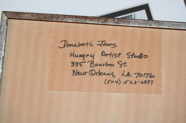 Donabeth Jones Art Print - Bourbon Street