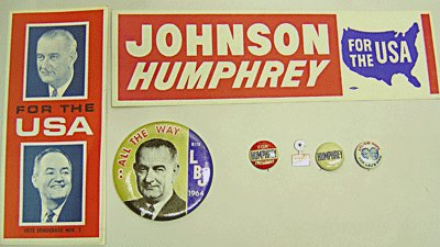 Johnson Humphrey Political Lot