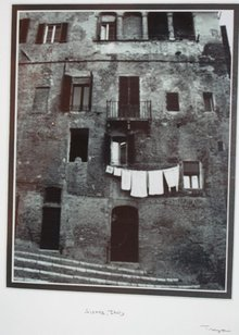 Rome Sicily BW Photo Framed