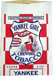 Yankee Girl Tobacco Bag