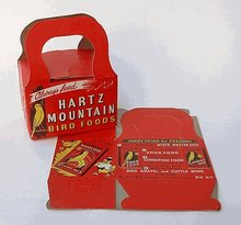 Hartz Mountain Parakeet Dimestore Boxes
