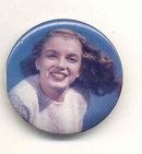 Norma Jean Baker MM Pinback Pin