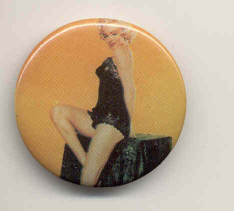 Marilyn Monroe Gentlemen Prefer Blondes pinback