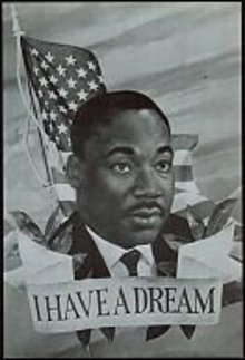 Martin Luther King Jumbo Postcards