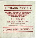 Skelly Oil Napkins