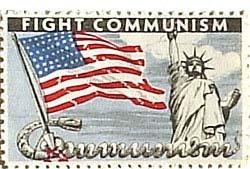 Fight Communism Stamp 1949
