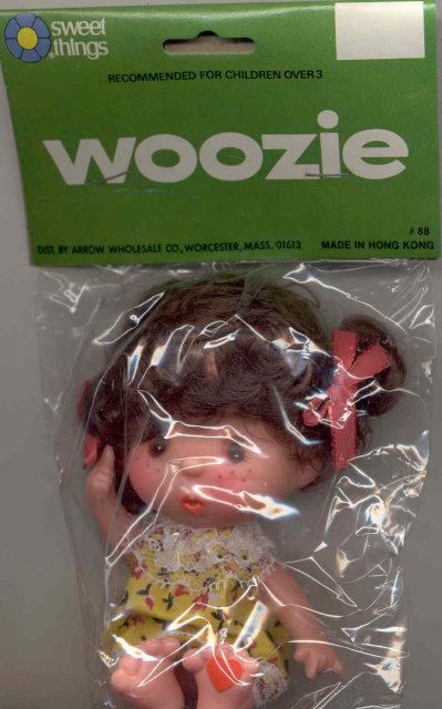 Vinyl Woozie Doll