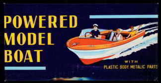 Japan Model Boat Kit